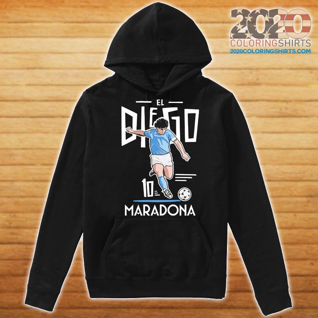RIP Diego Maradona 10 We Why Miss Your Diego Maradona Shirt Hoodie