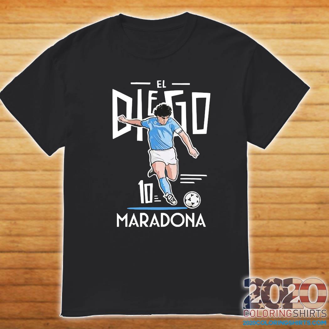 RIP Diego Maradona 10 We Why Miss Your Diego Maradona Shirt Shirt
