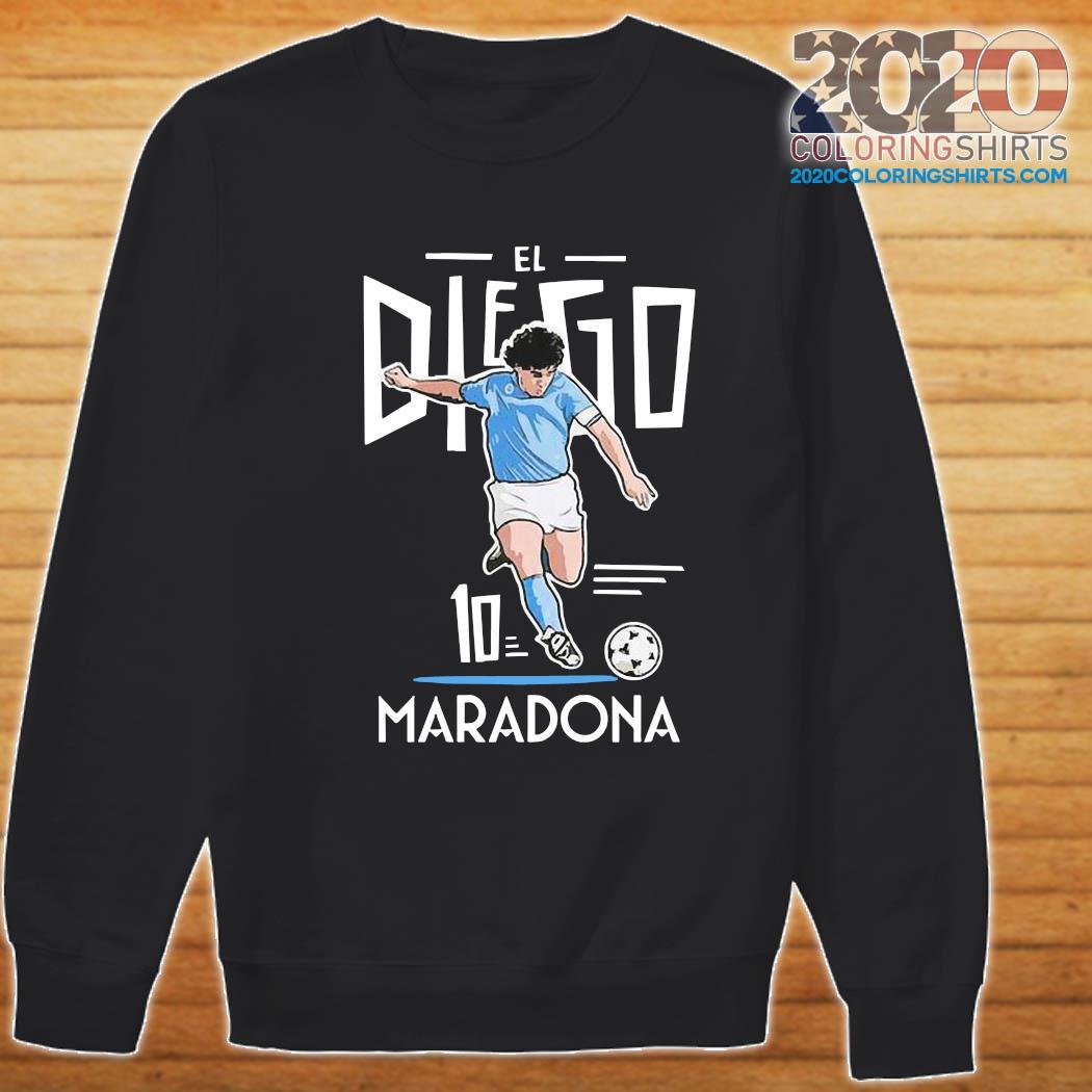 RIP Diego Maradona 10 We Why Miss Your Diego Maradona Shirt