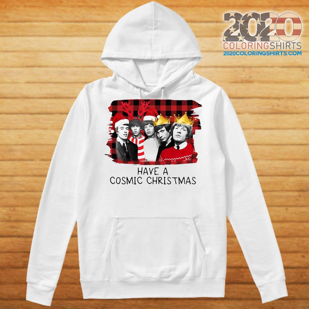 The Rolling Stones Have A Cosmic Christmas Sweats Hoodie