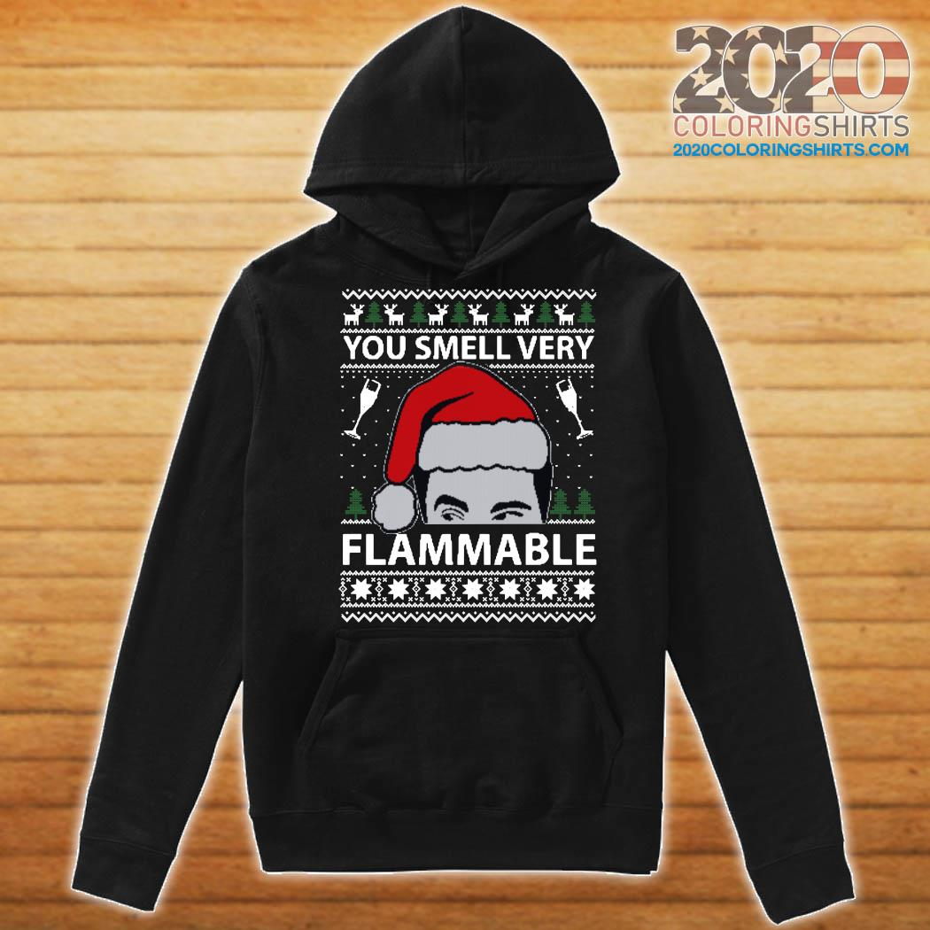 You Smell Very Flammable Schitt's Creek Ugly Christmas Sweats Hoodie