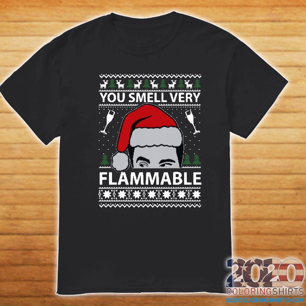 You Smell Very Flammable Schitt's Creek Ugly Christmas Sweats Shirt