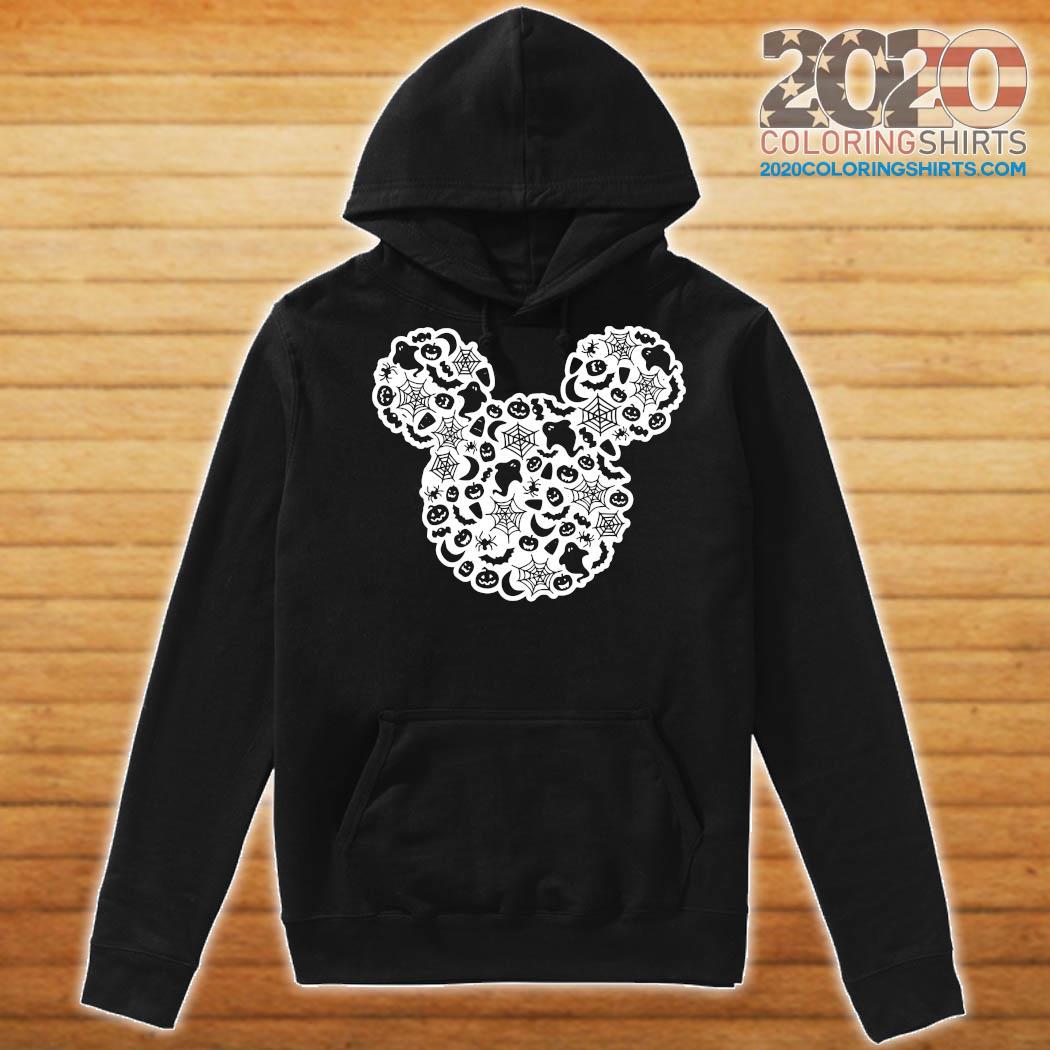 Mickey Mouse Halloween Ghost Pumpkin Shirt Hoodie
