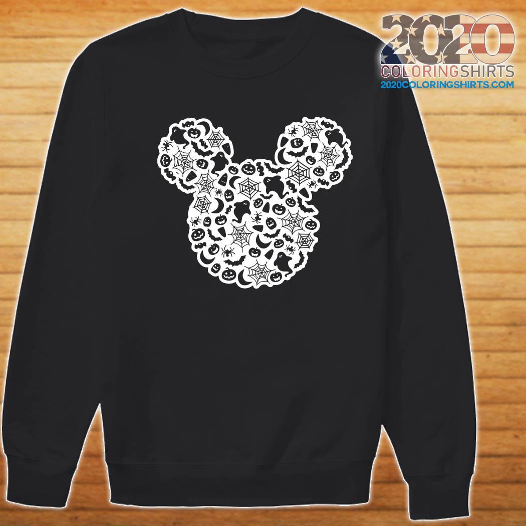 Mickey Mouse Halloween Ghost Pumpkin Shirt