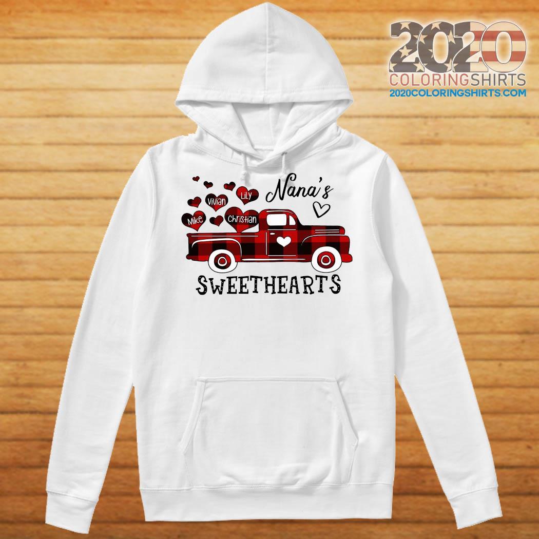 Nana's Sweethearts Truck Mike Vivian Lily Christian Shirt Hoodie