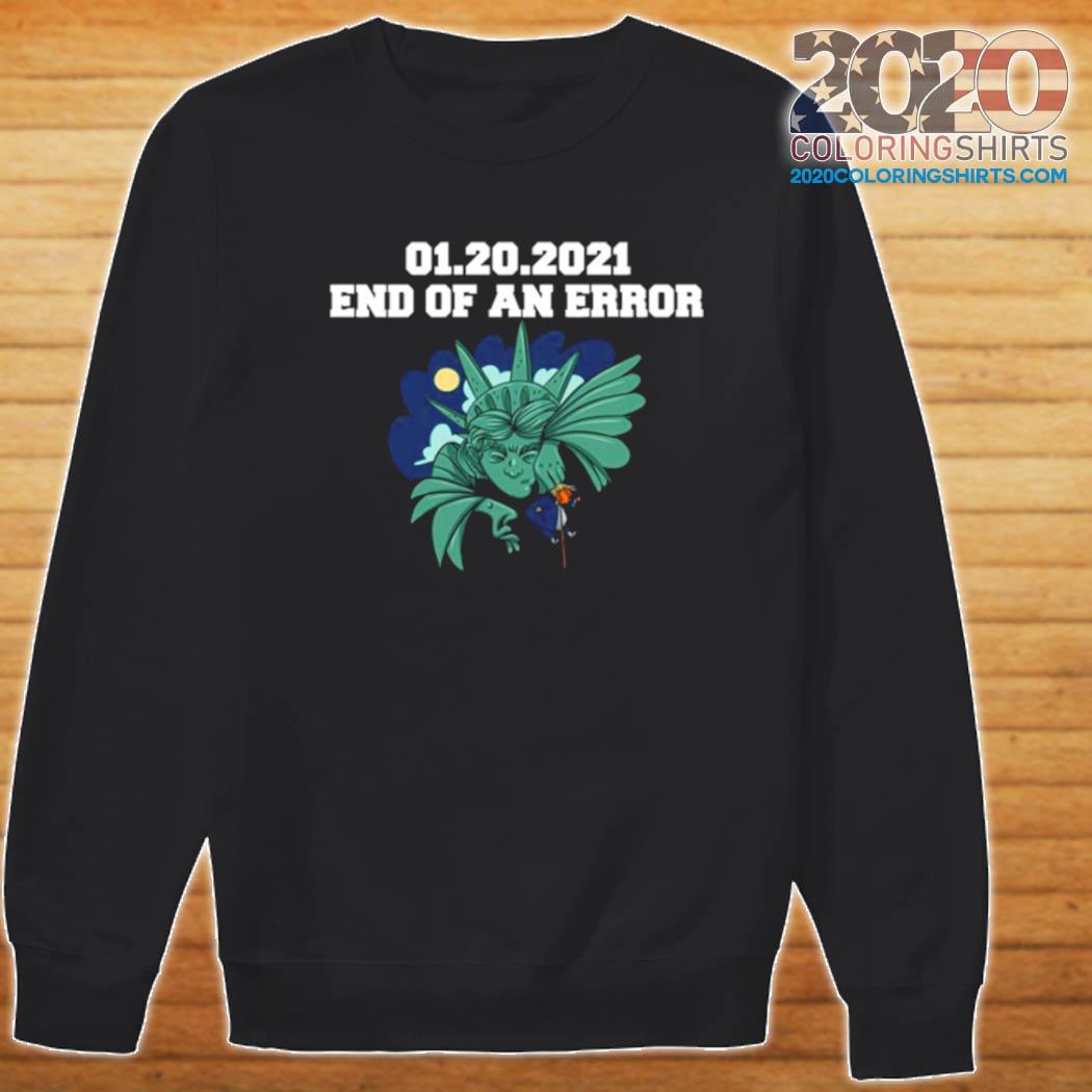 01 20 2021 End Of An Error Donald Trump s Sweater