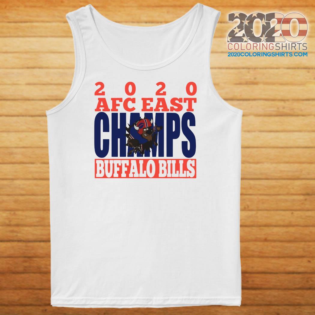 2020 Afc East Champs Buffalo Bills Football Shirt Tank top