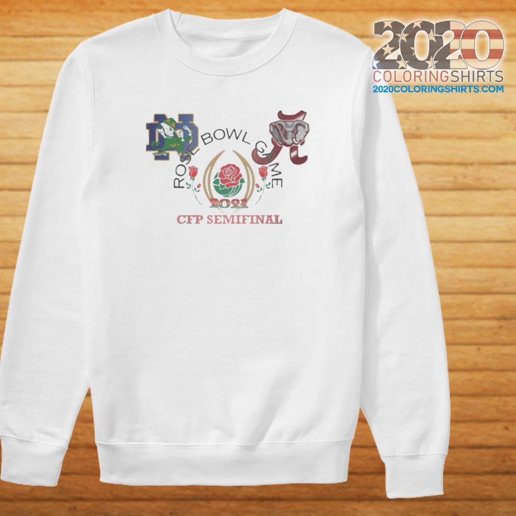 2021 Rose Bowl CFB Playoff Semifinal Tee Shirt Sweater