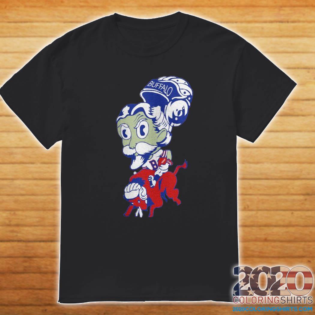 Bison Buffalo Bill Vintage Football Lightweight Shirt