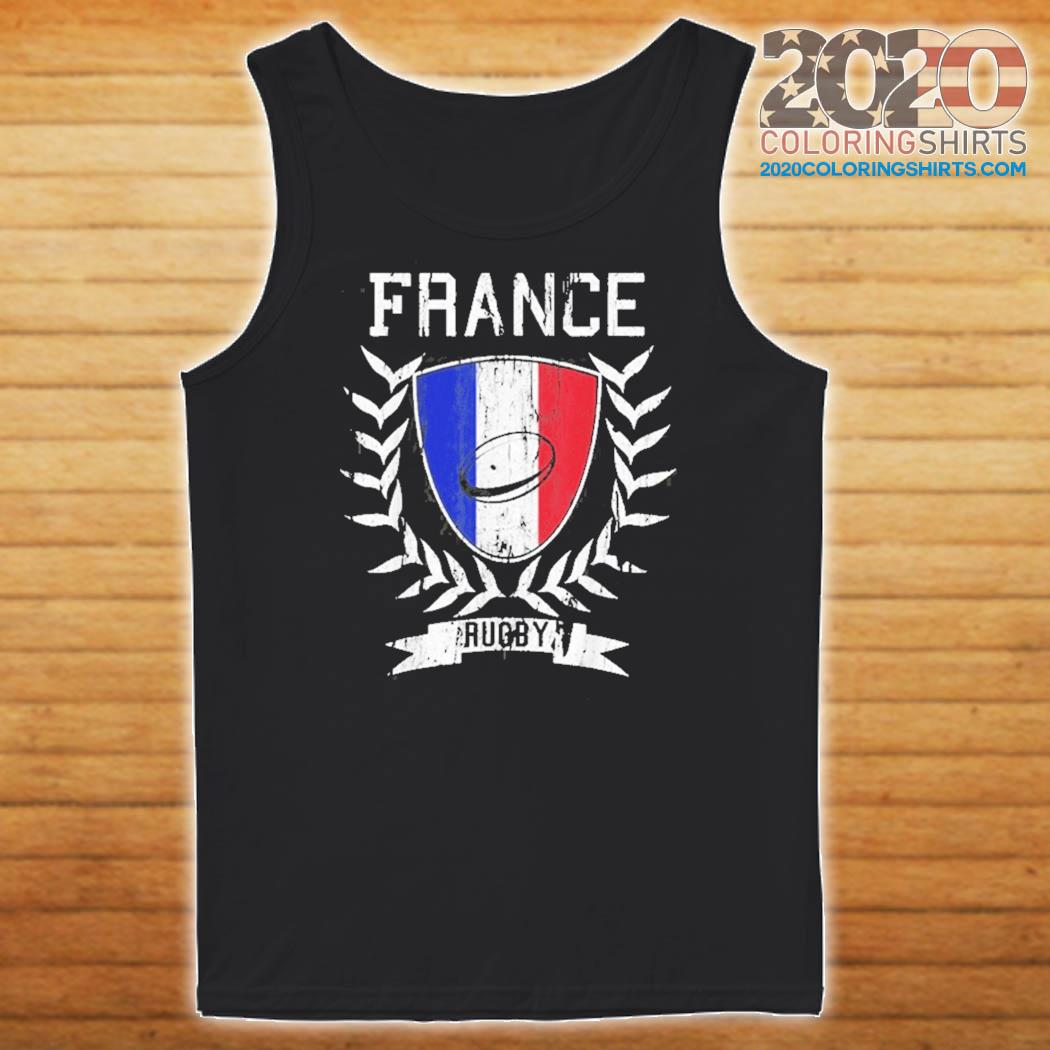 France Rugby Jersey 2021 Rugby Shirt Tank top