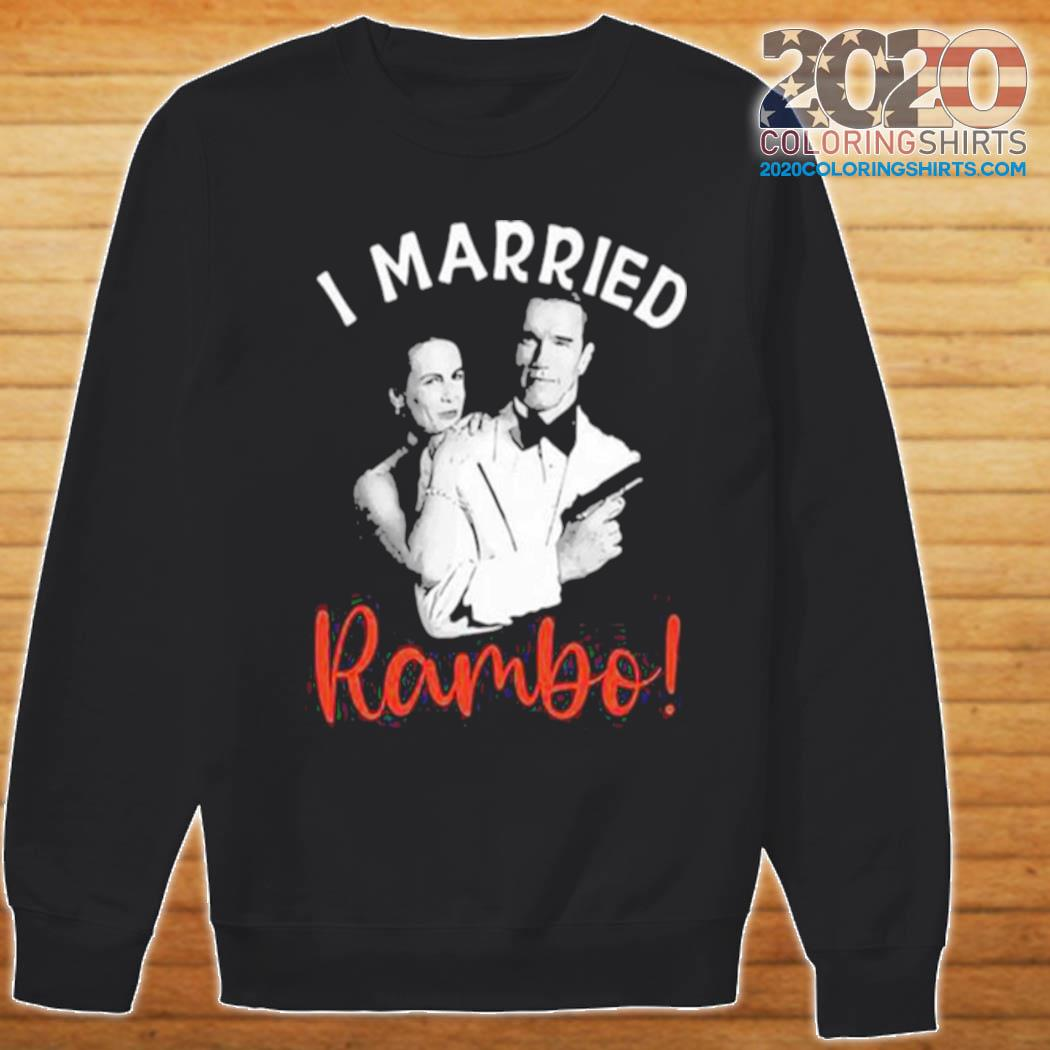 I Married Rambo Couple The Perfect Man s Sweater