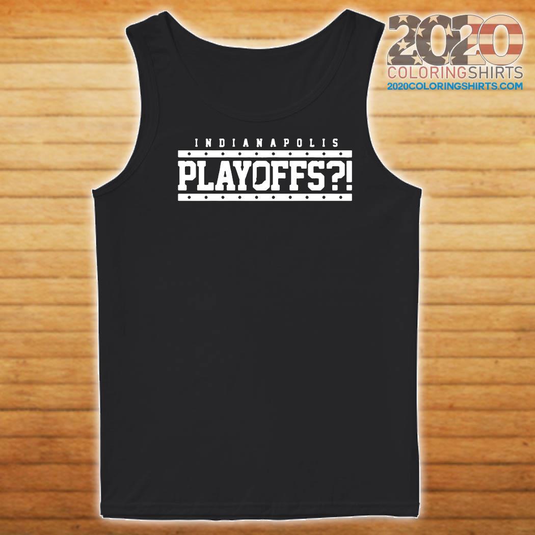 Indianapolis Colts Playoffs Shirt Tank top