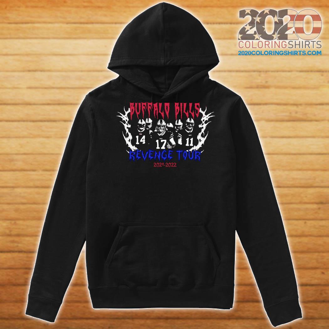 Official Buffalo Bills Revenge Tour 2021 2022 Shirt Hoodie
