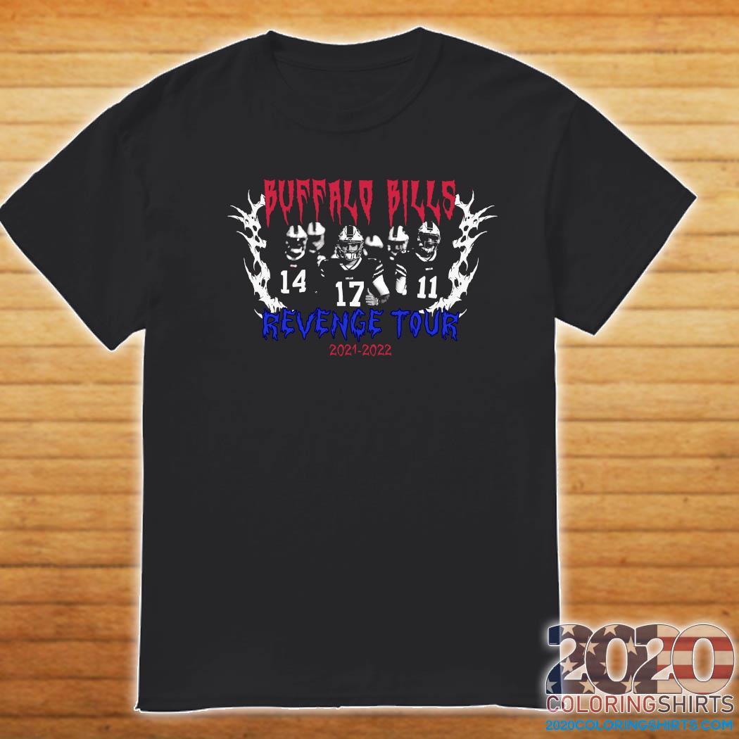 Official Buffalo Bills Revenge Tour 2021 2022 Shirt