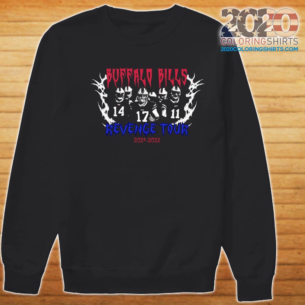 Official Buffalo Bills Revenge Tour 2021 2022 Shirt Sweater