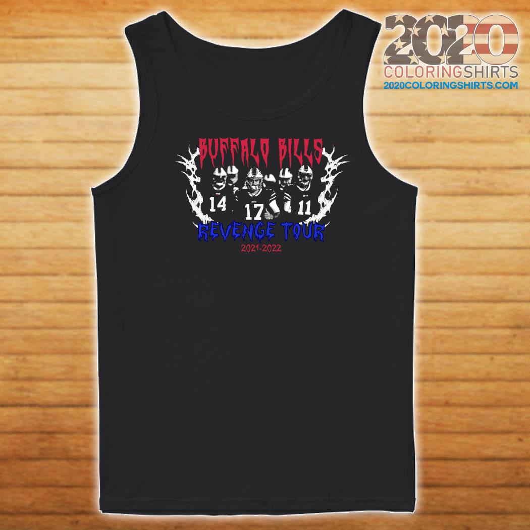 Official Buffalo Bills Revenge Tour 2021 2022 Shirt Tank top