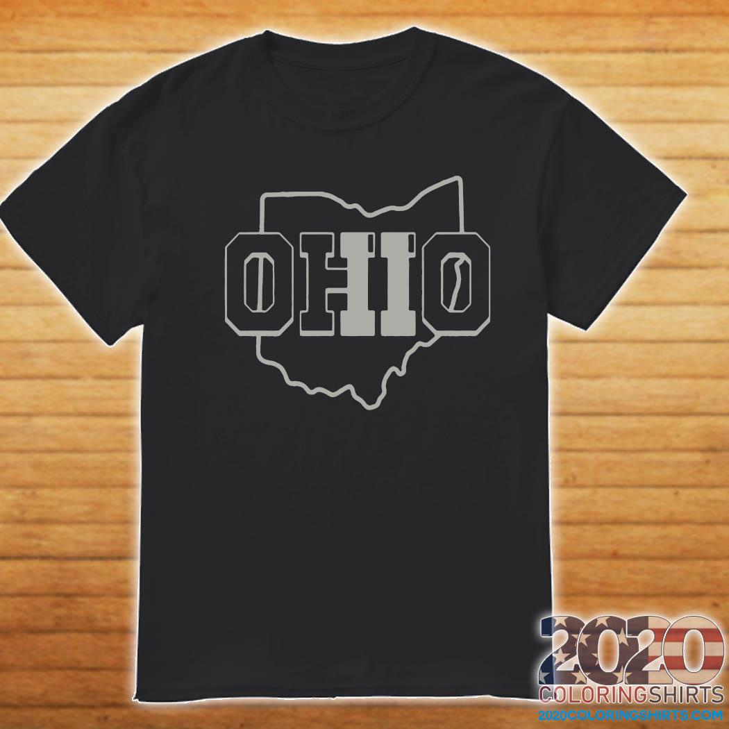 Official Ohio Map Shirt