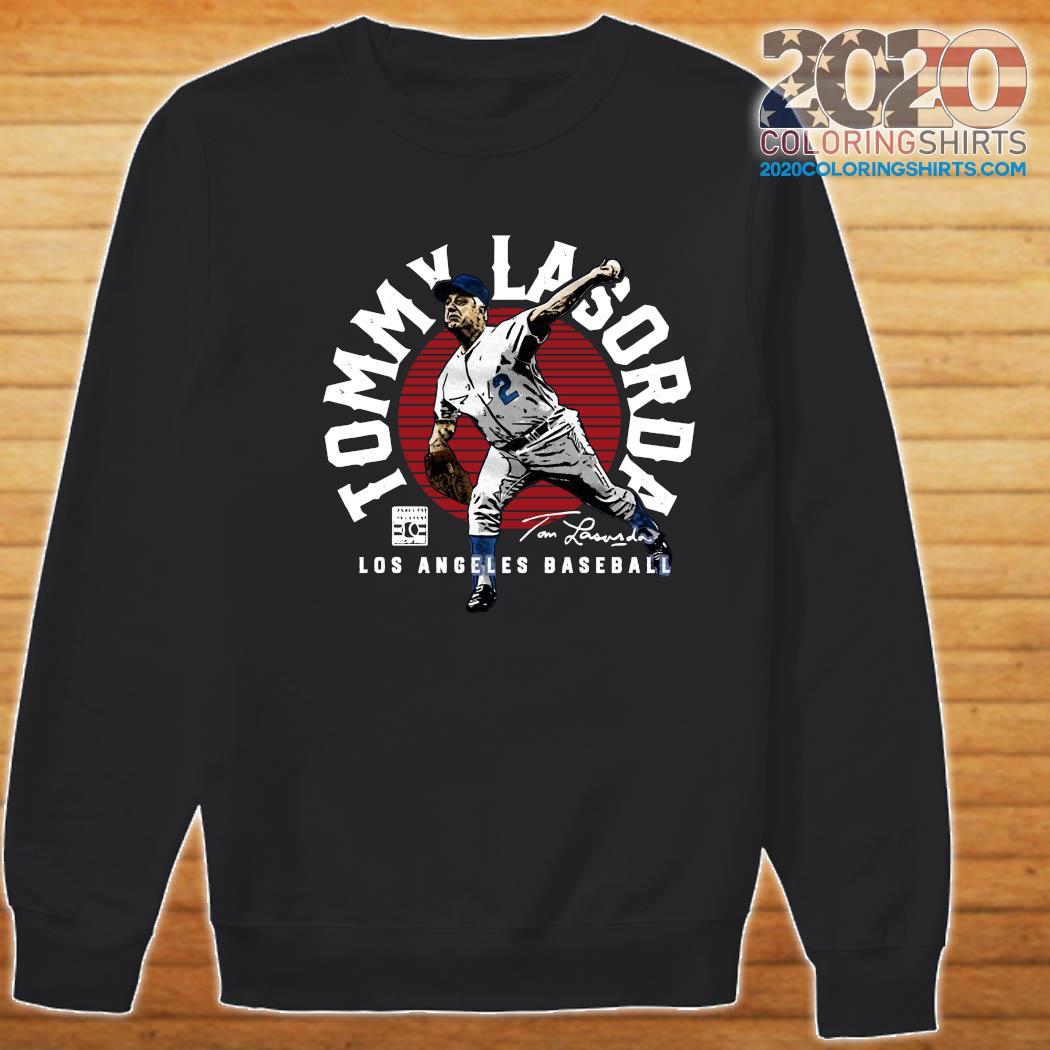Tommy Lasorda Los Angeles Baseball Signature Shirt Sweater