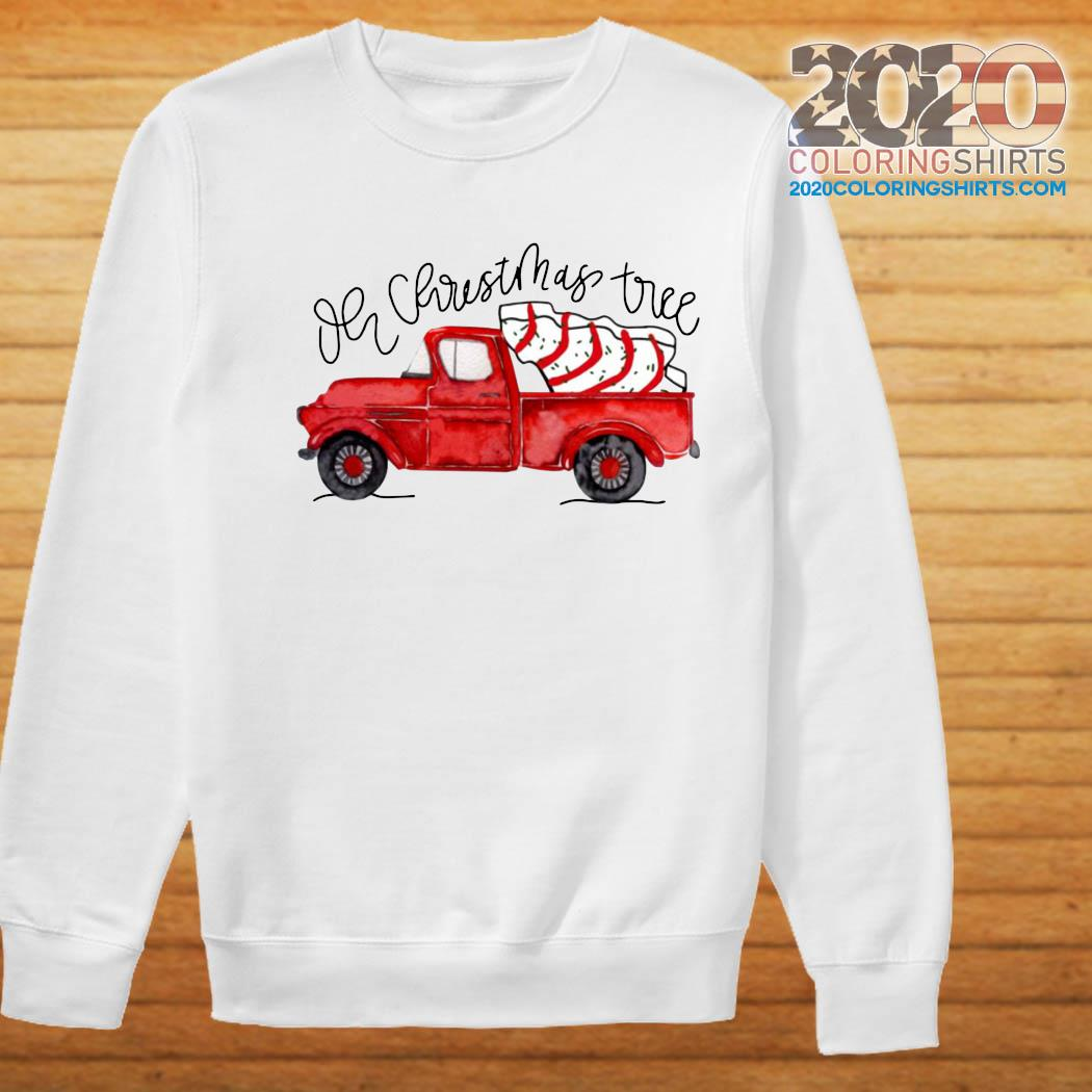 Truck Red Oh Christmas Tree Shirt Sweater