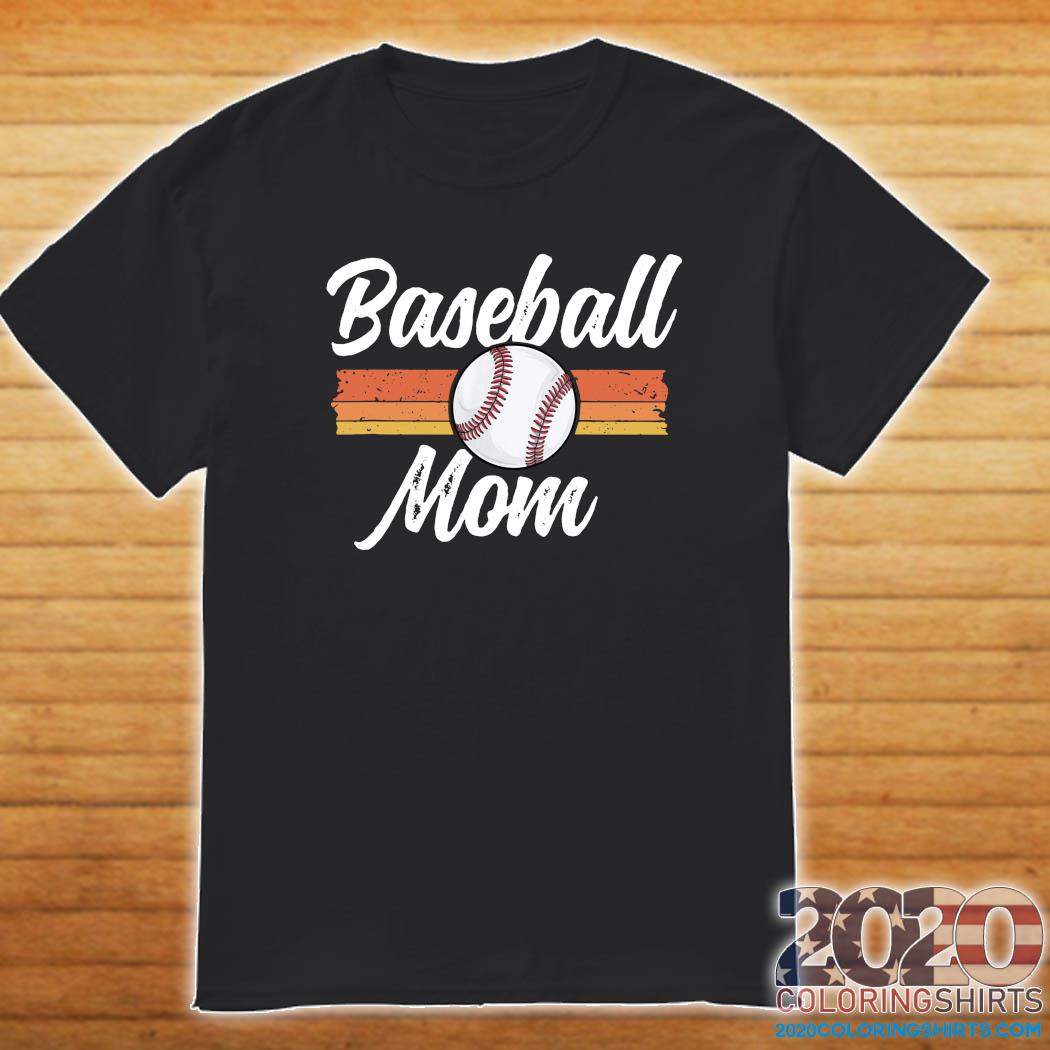 Official Mom Baseball Shirt Mother's Day Gift For Her Mama School Shirt